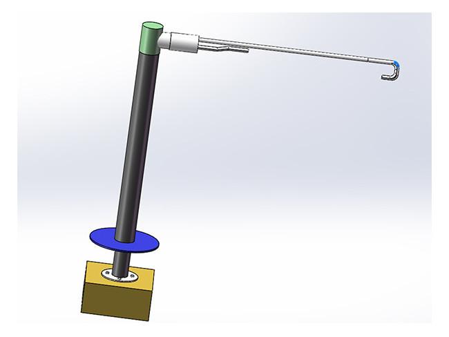 烟气超声波流速仪示意图1