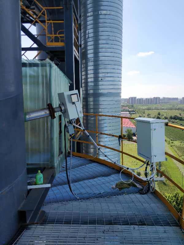 氨逃逸在线监测系统现场安装图