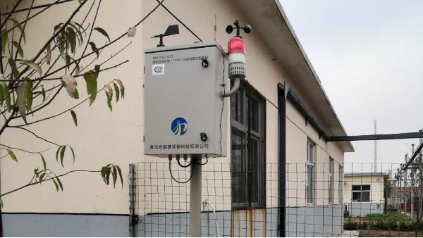 厂界VOC在线报警器安装现场