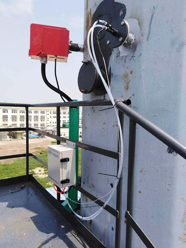 CEMS烟气在线监测系统现场-宏瑞德客户案例